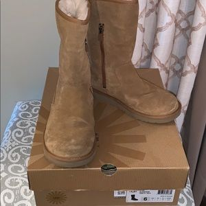 UGG Lil Sunshine Camel Colored Boots